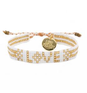Love Is Project Seed Bead Bracelet