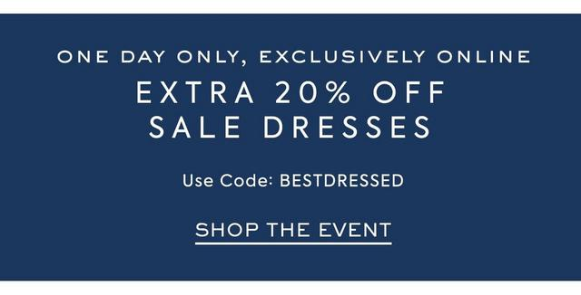 Use Code DressUp for an extra 25% OFF Sale Dresses