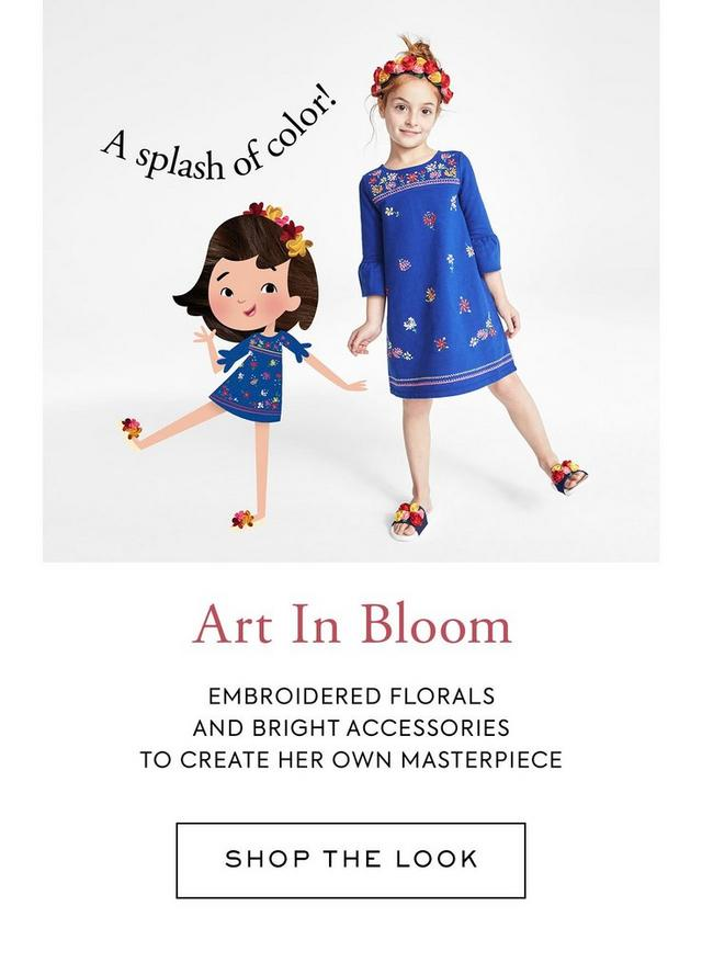Shop The Look Art In Bloom