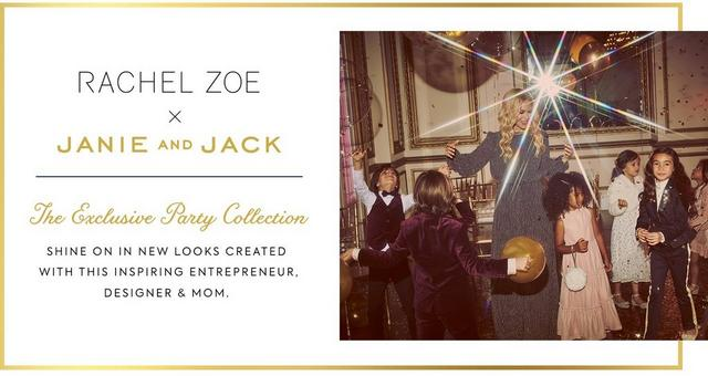 Rachel Zoe X Janie And Jack The Exclusive Party Collection