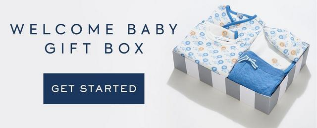 Shop Welcome Baby Gift Box