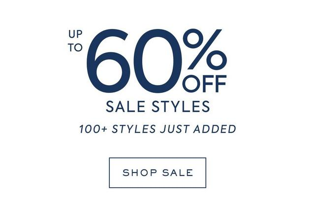 up to 60% off new sale styles | shop sale