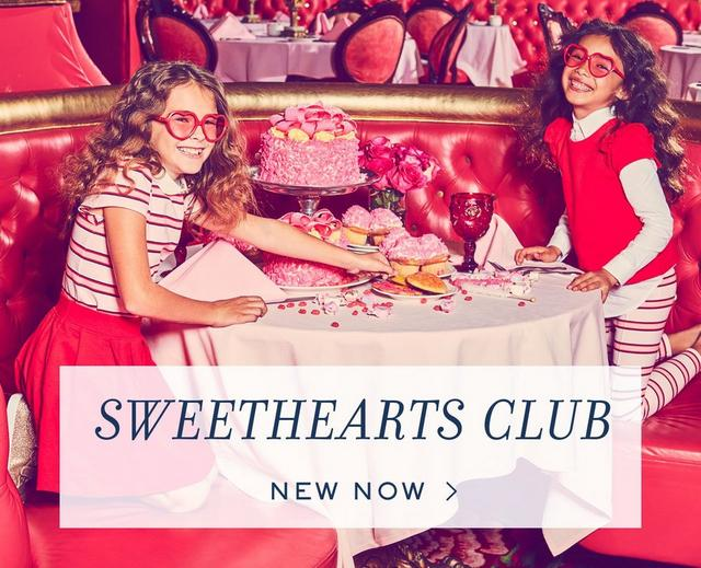 sweethearts club | new now