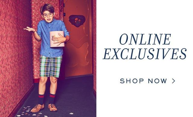 Shop Online Exclusives