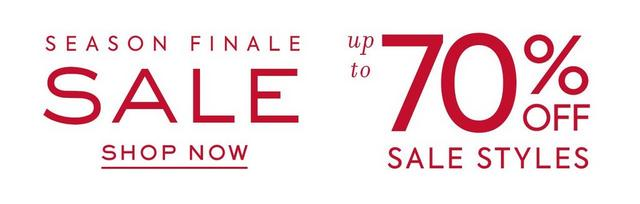 shop up to 70% off sale styles