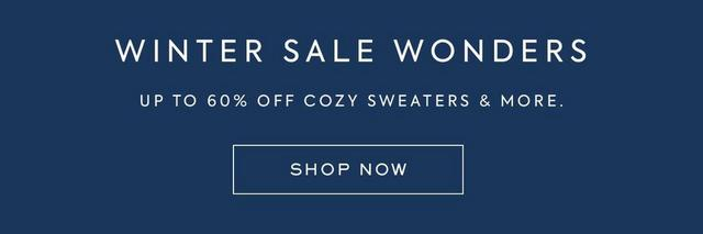 Winter Sale Wonders - shop now