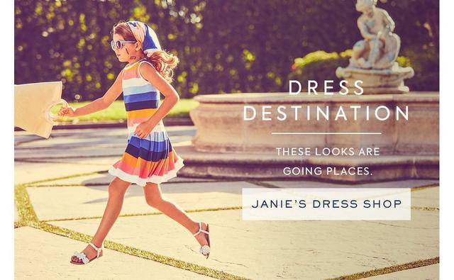 Shop Janie's Dress Shop
