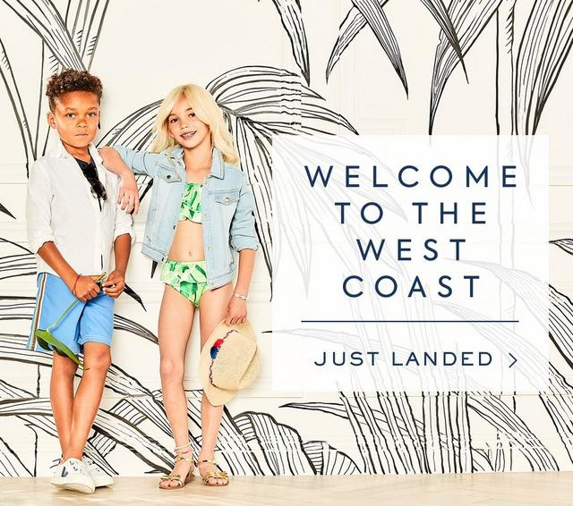 Welcome to the West Coast, Shop New Arrivals