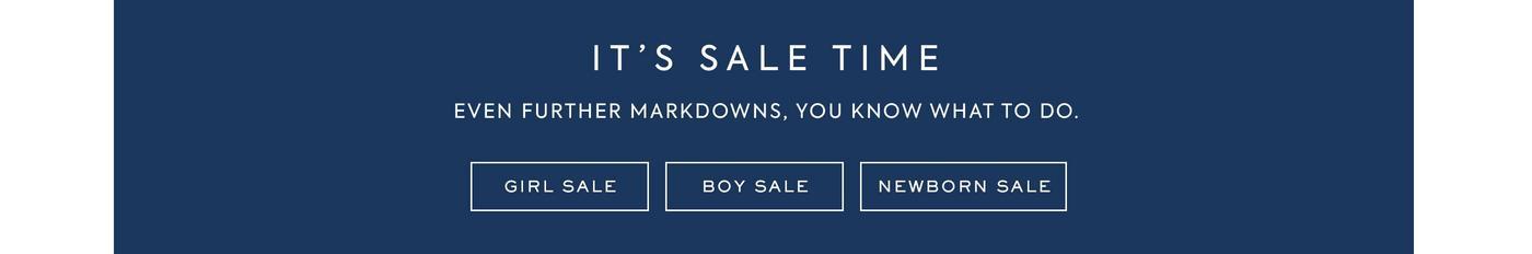 IT'S SALE TIME