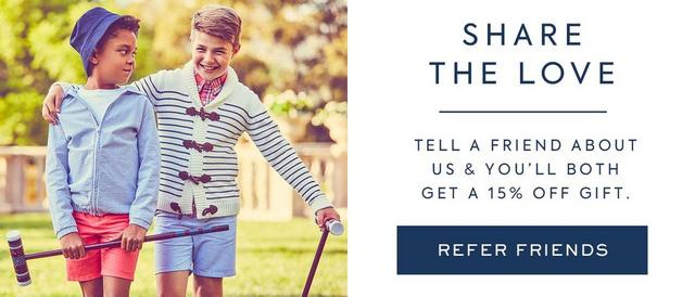 SHARE THE LOVE - refer a friend