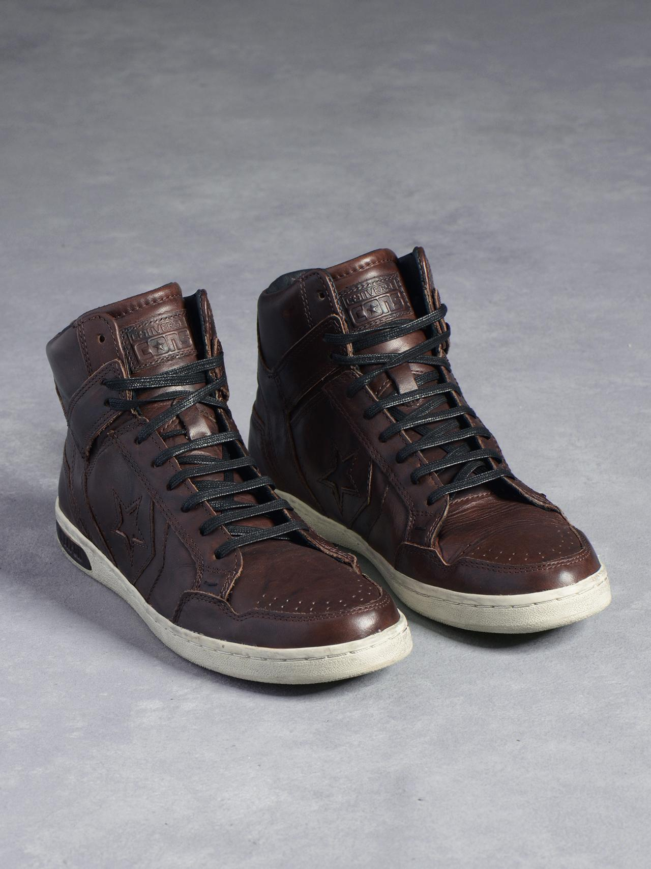 Chocolate Brown Weapon High-Top