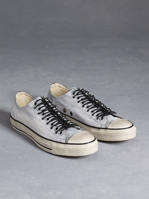 PAINTED CANVAS MULTI EYELET ALL STAR