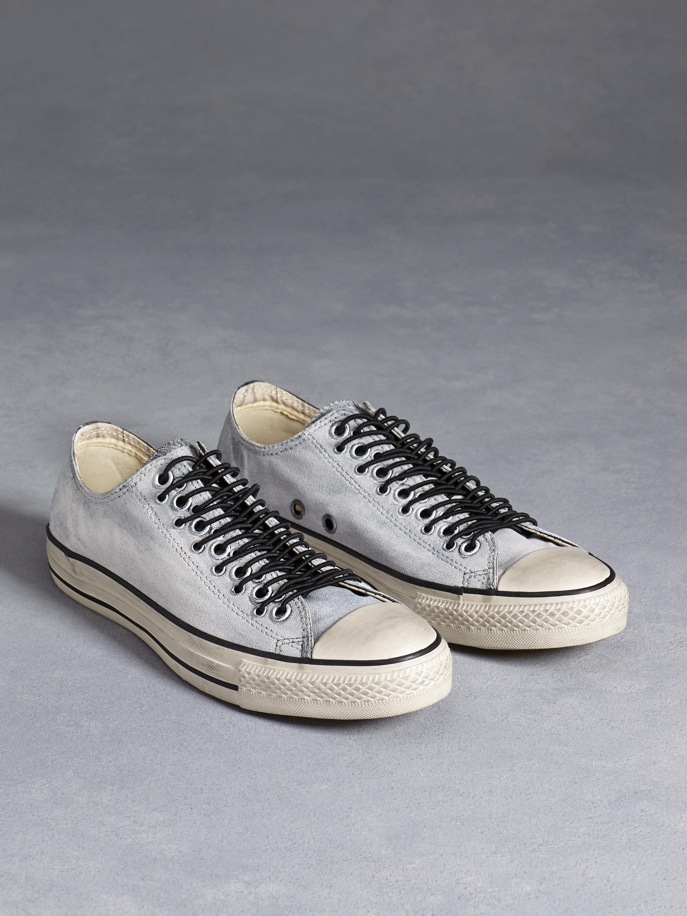 7664204e107f PAINTED CANVAS MULTI EYELET ALL STAR - John Varvatos