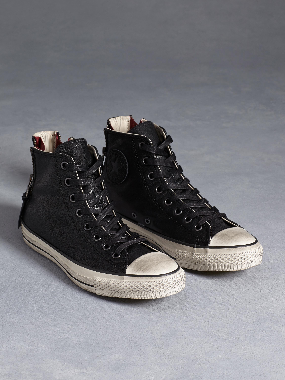 a03dc2042d4a Zipped Leather All Stars - John Varvatos