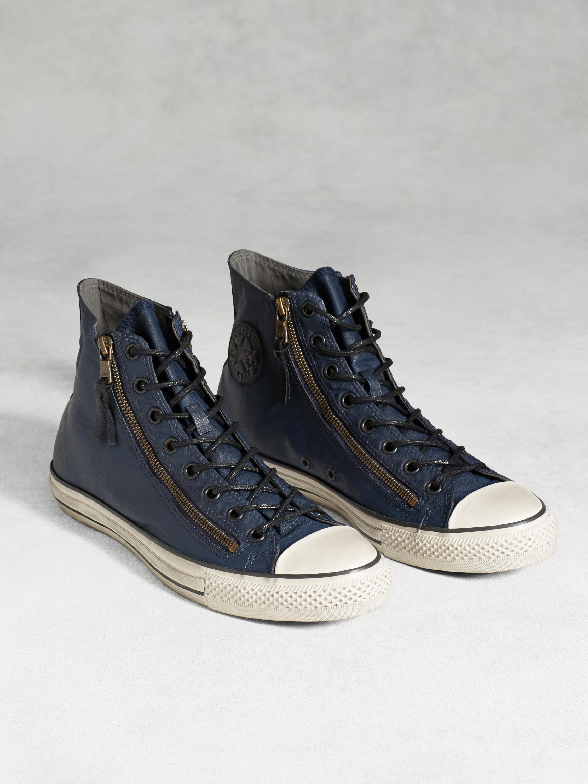 Chuck Taylor All-Star Painted Double Zip High Top
