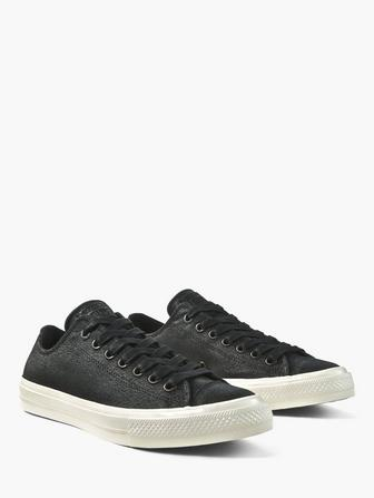 Chuck II Coated Leather Low Top