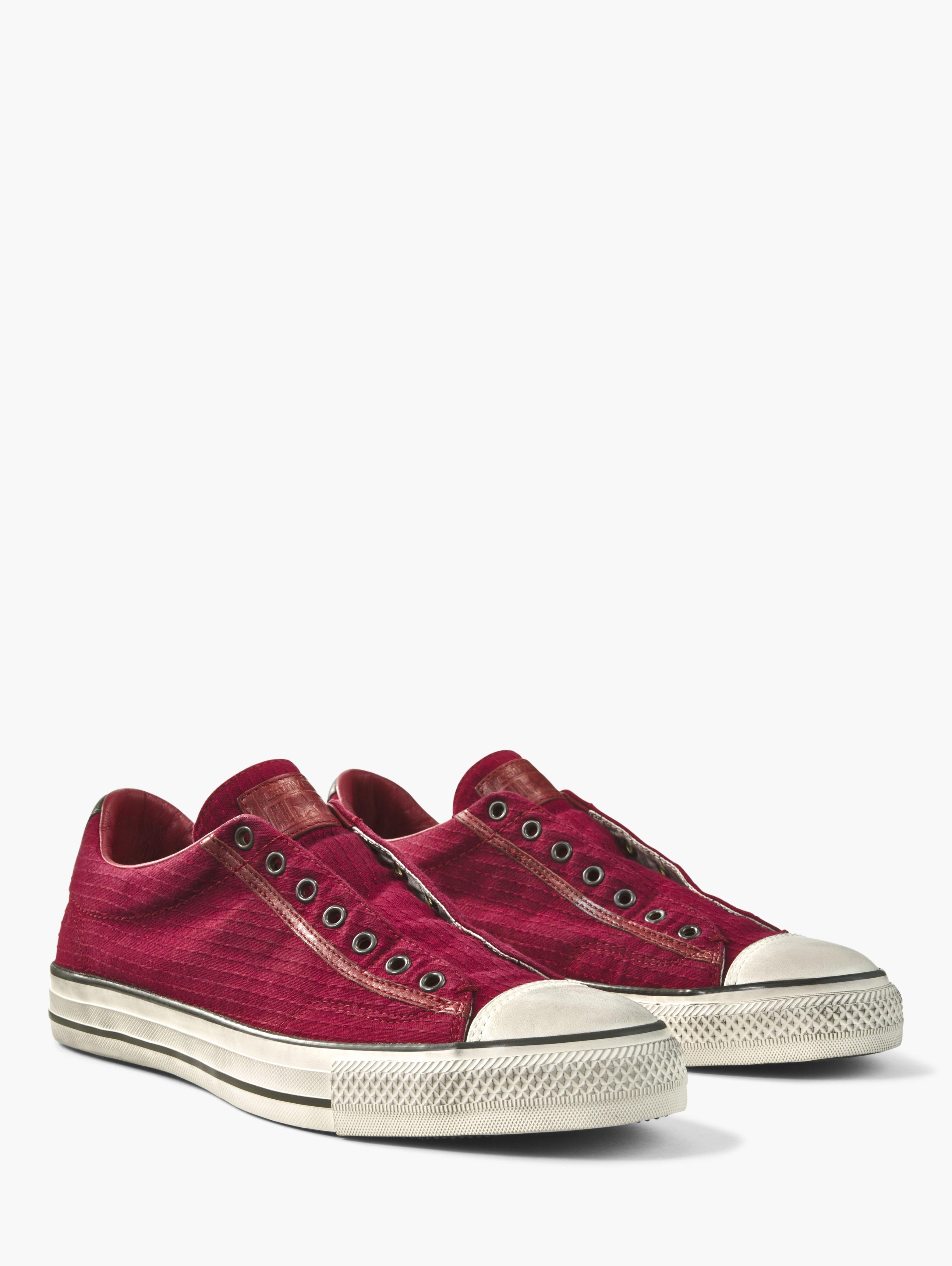 Seersucker Chuck Taylor Slip On