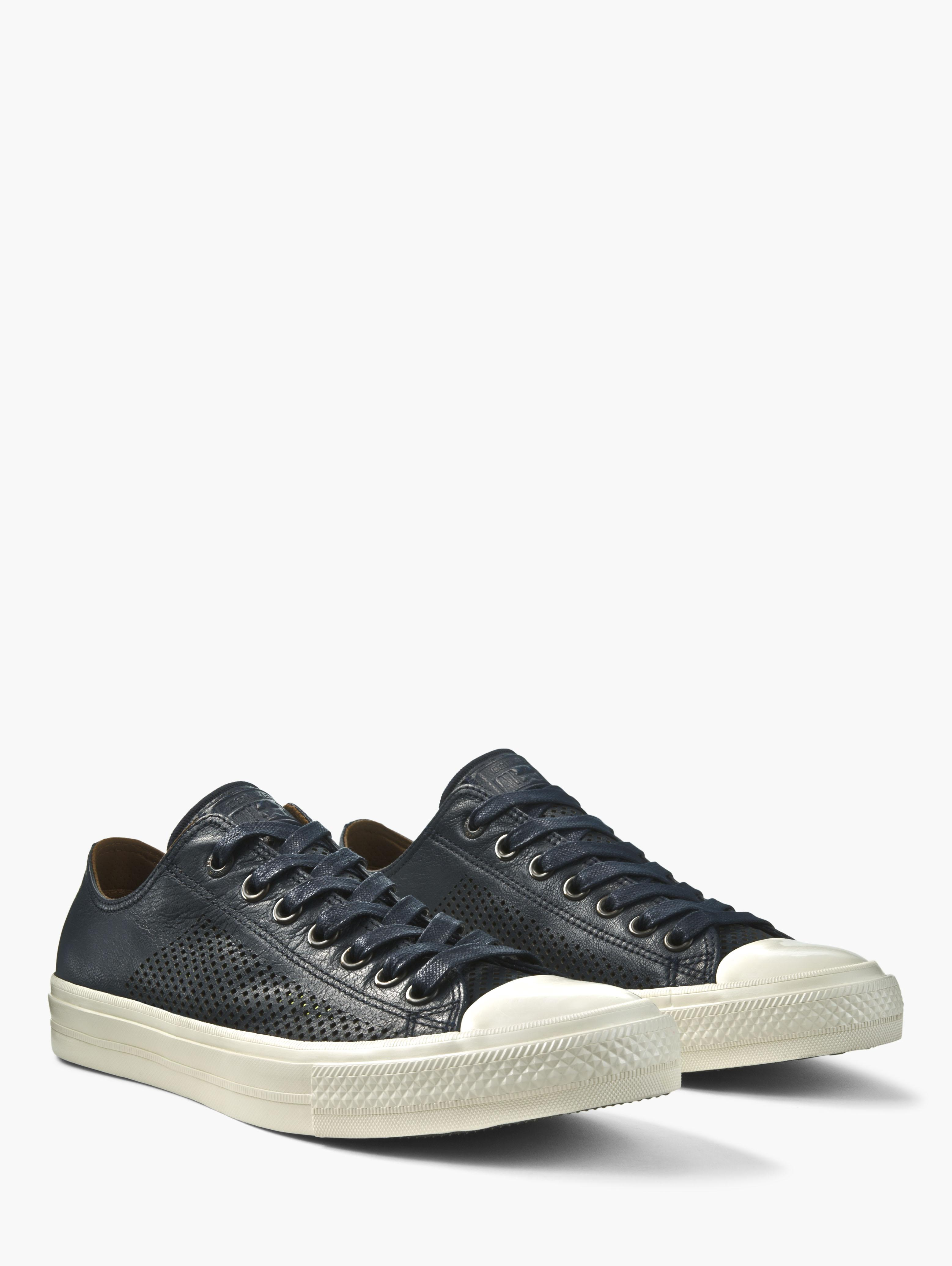 Chuck II Perforated Leather Low Top