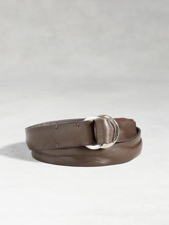 Artisan Hammered Ring Belt