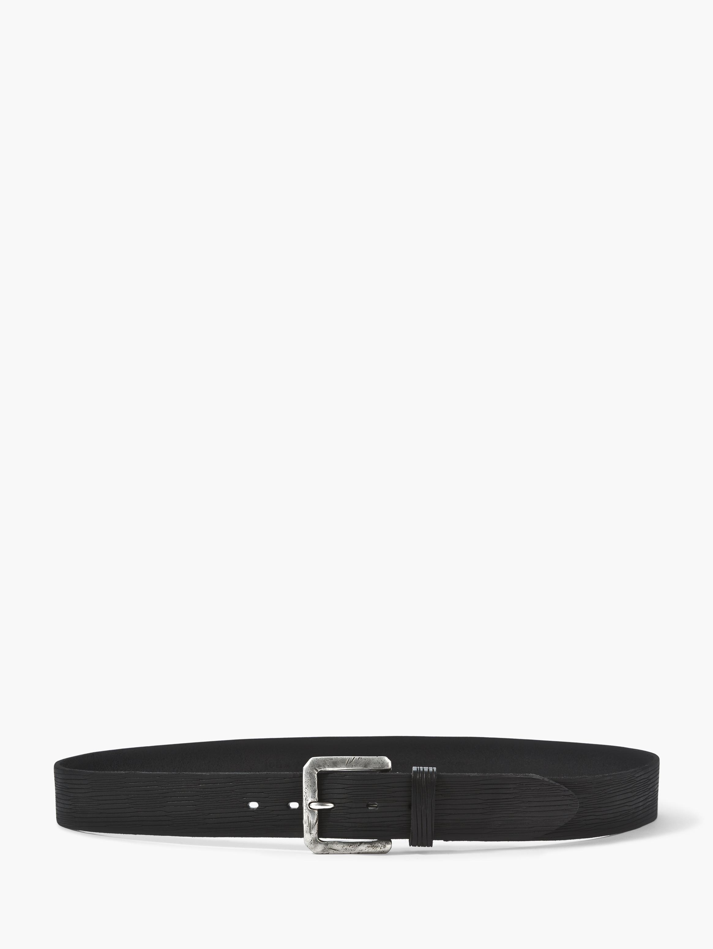 Leather Scratched Belt