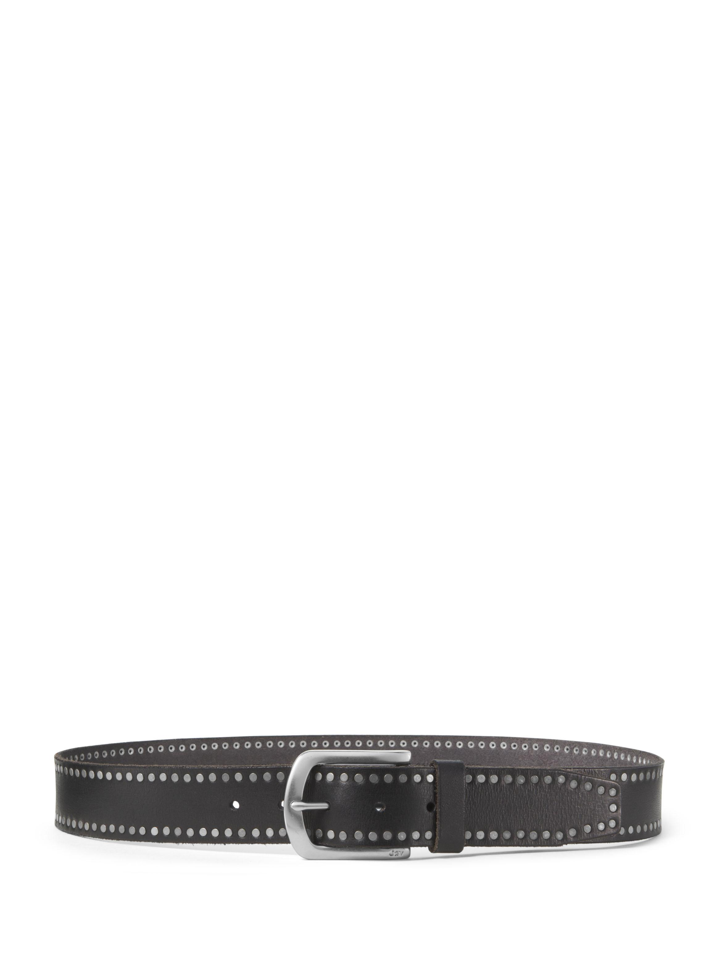 Leather Nail Head Belt