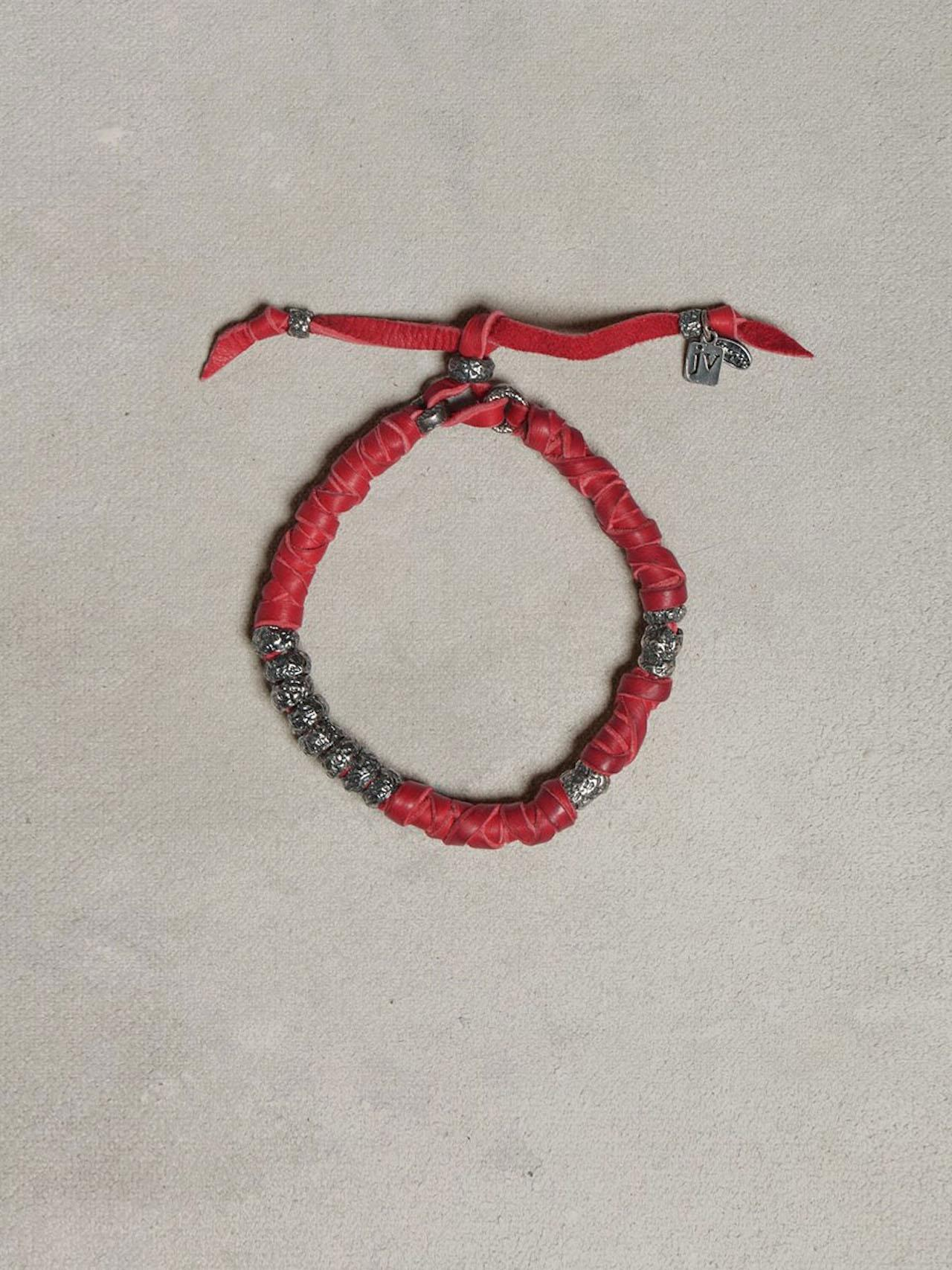 Wrapped Leather Bracelet