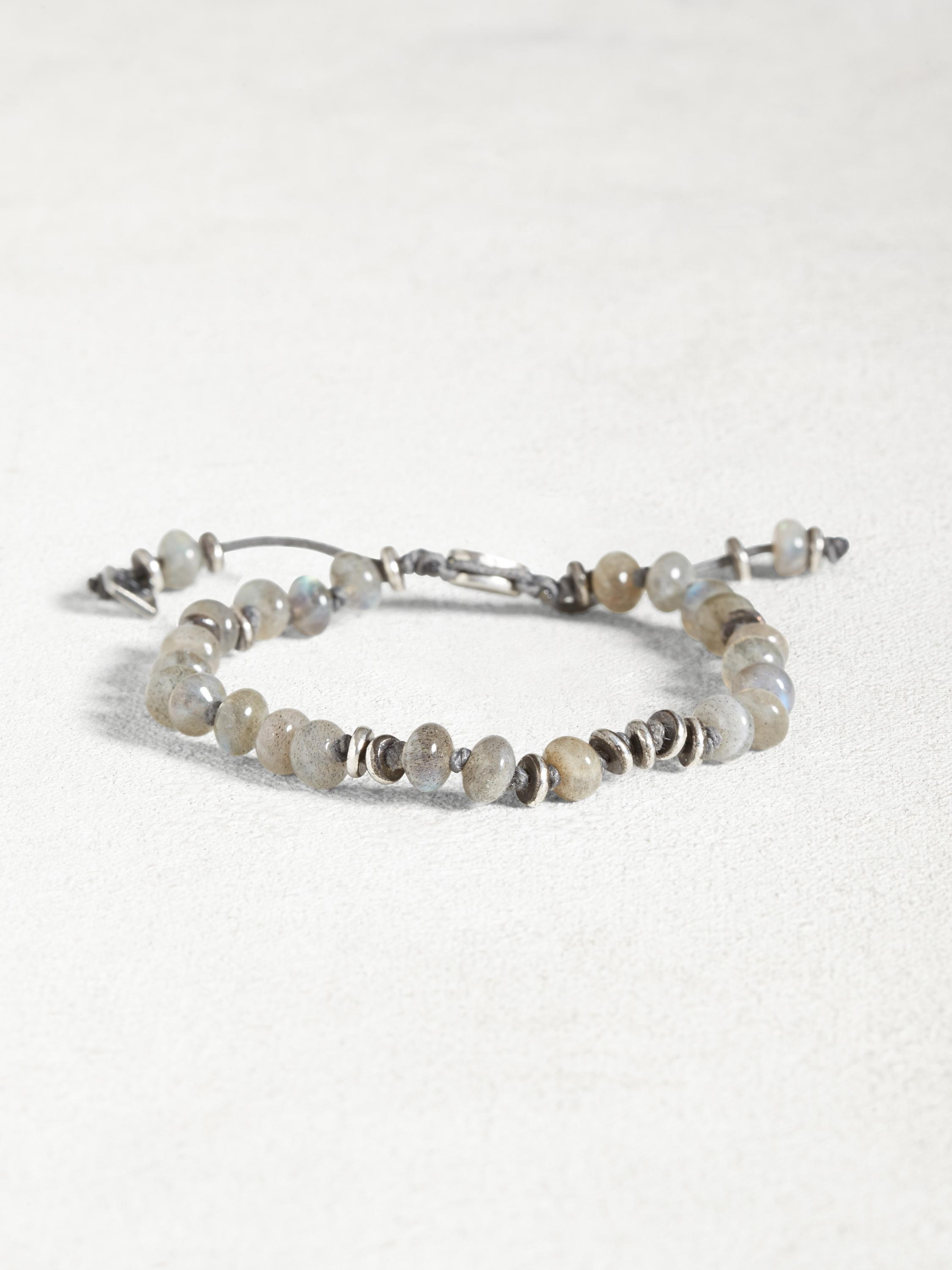Labradorite and Sterling Silver Bracelet