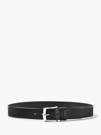 GRADIENT STAIN LEATHER BELT