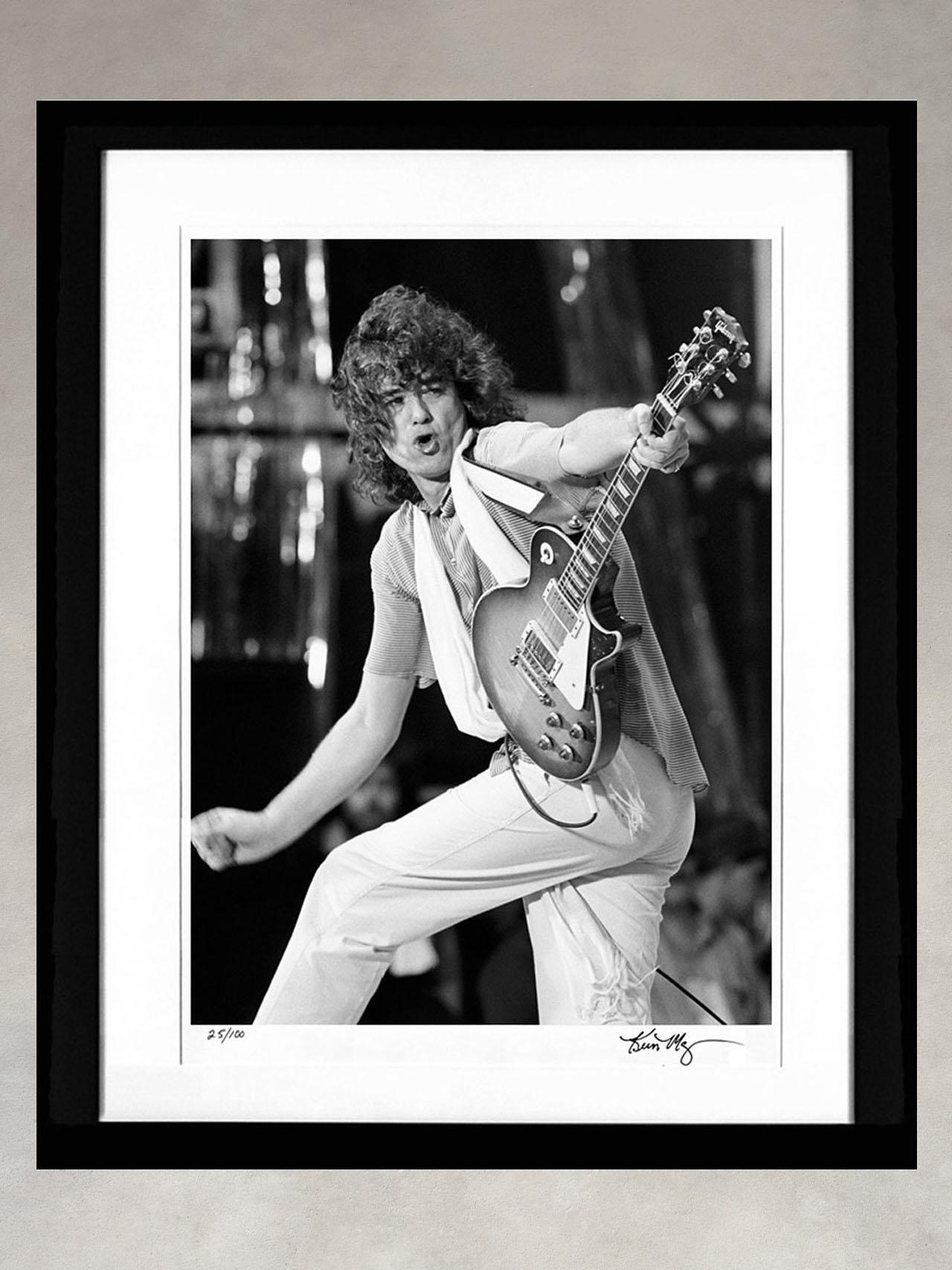 Jimmy Page by Kevin Mazur