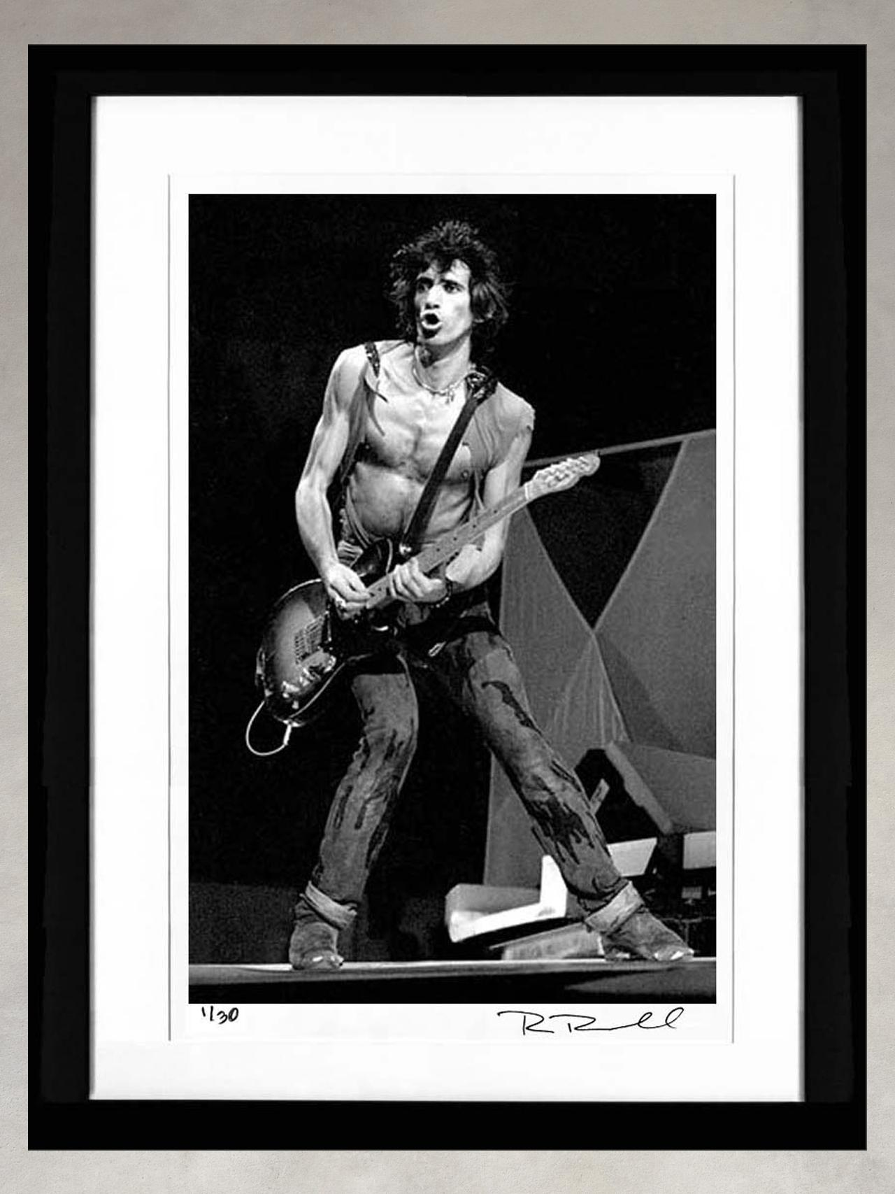 Keith Richards by Ron Pownall