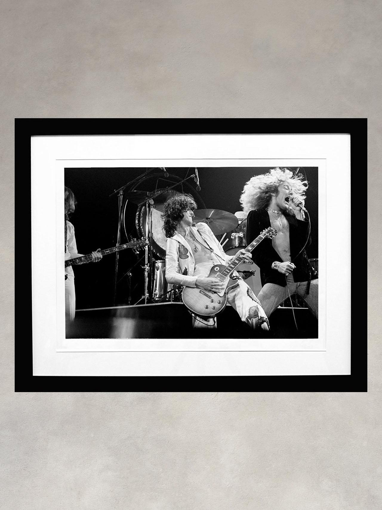 Led Zeppelin by Michael Putland
