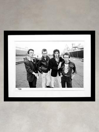 The Clash by Michael Putland