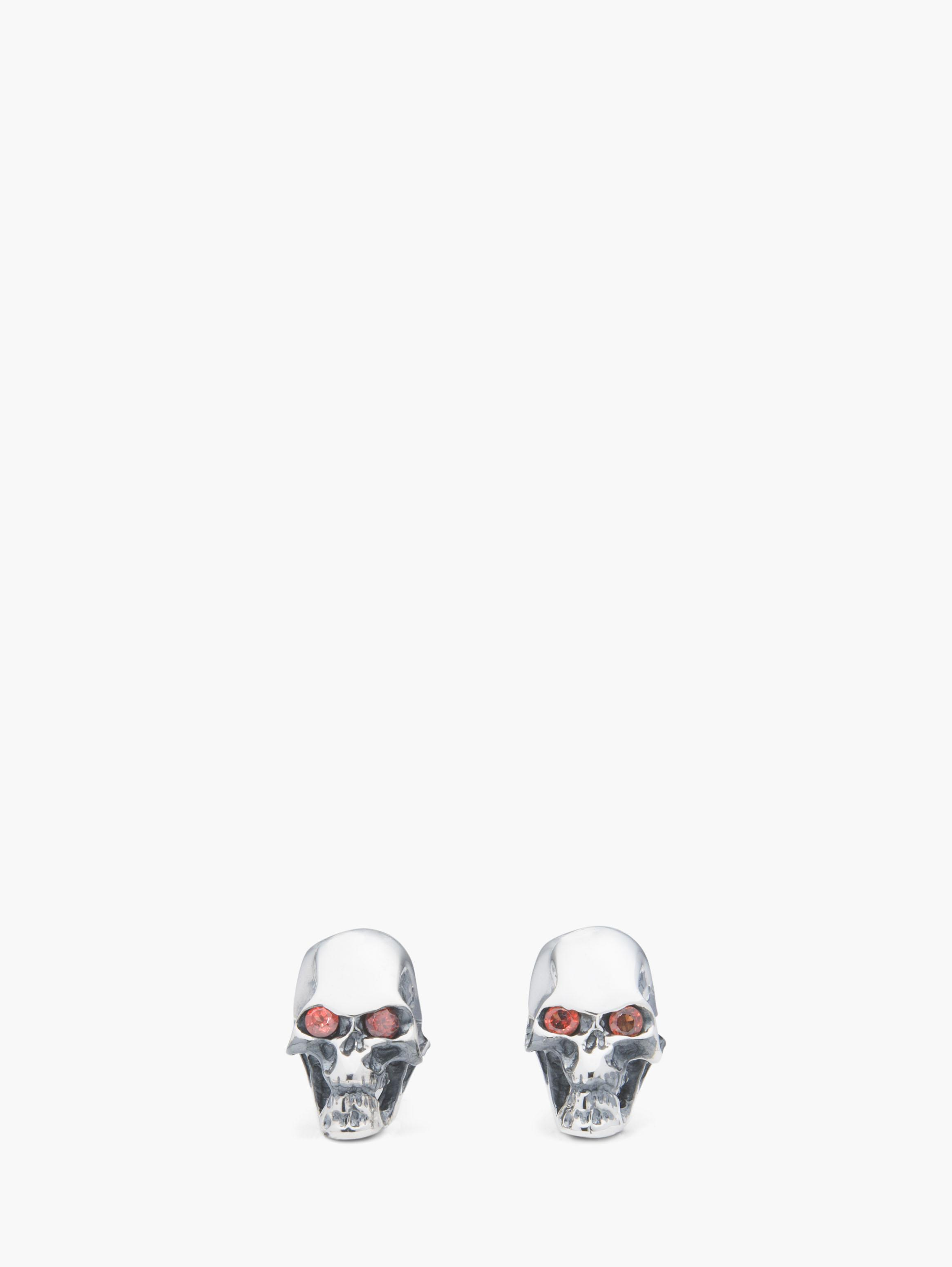 Screaming Skull Cufflink
