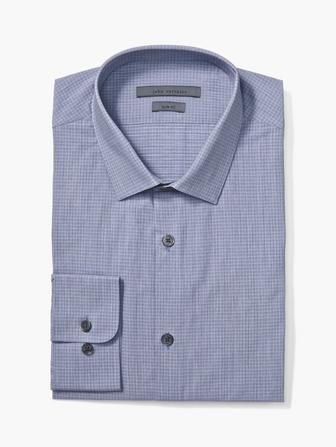 SLIM FIT DRESS SHIRT W/ STELLA COLLAR