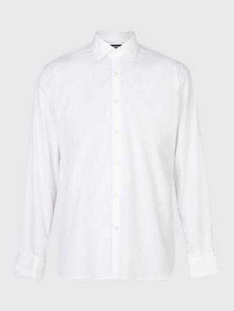 SLIM FIT DRESS SHIRT WITH FRENCH CUFF