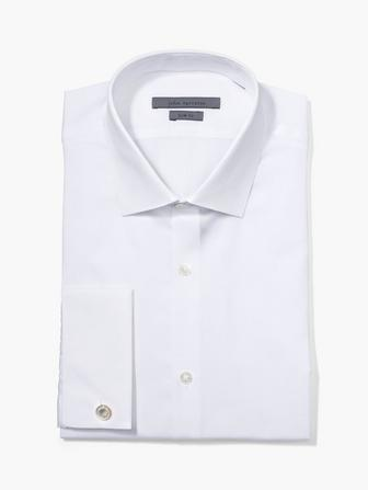 DRESS SHIRT WITH FRENCH CUFF