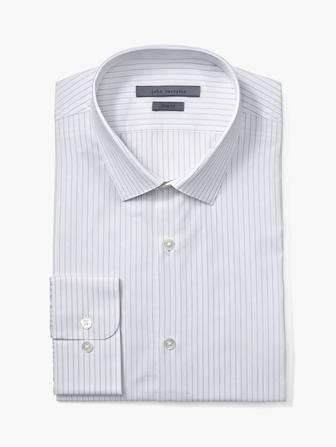 TRIM FIT DRESS SHIRT W/STELLA COLLAR