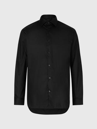 SLIM FIT DRESS SHIRT WITH EDGE STITCH