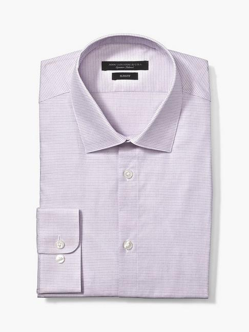 RICK CHECK SLIM FIT DRESS SHIRT