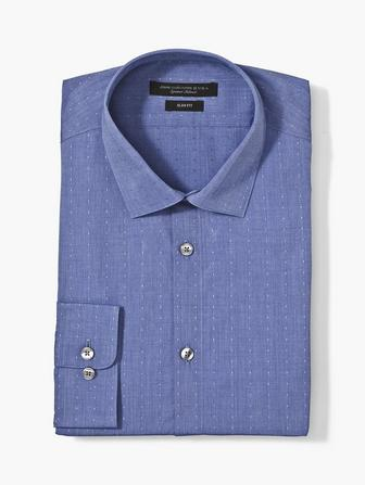 RICK DOT SLIM FIT DRESS SHIRT