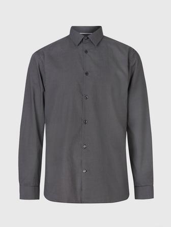STEVEN STAR DRESS SHIRT W. BLUFF EDGE
