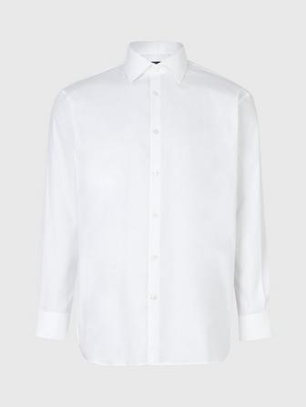 SPENCER REGULAR FIT DRESS SHIRT W/CONTRAST DETAIL