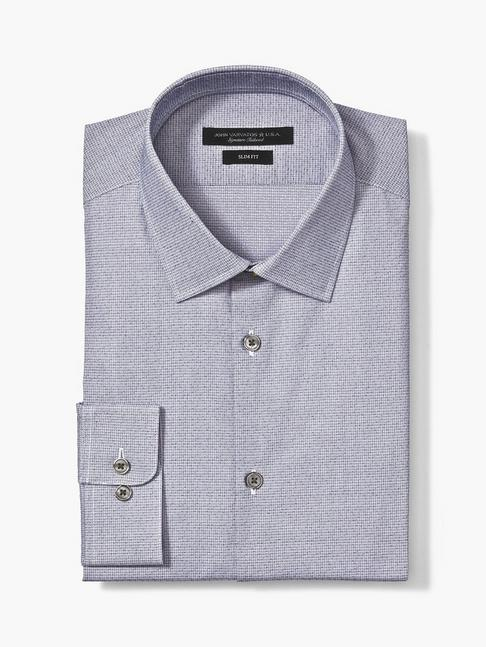 RICK CONTRAST SLIM FIT DRESS SHIRT
