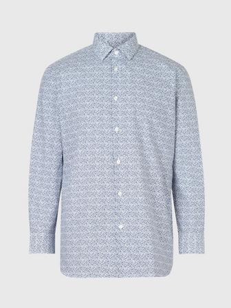 RICK SLIM FIT DRESS SHIRT W CONTRAST DETAILS
