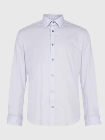RICK SLIM FIT DRESS SHIRT WITH SPREAD COLLAR
