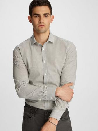 WRINKLE RESISTANT RICK DRESS SHIRT
