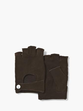 FINGERLESS GOAT SUEDE GLOVE