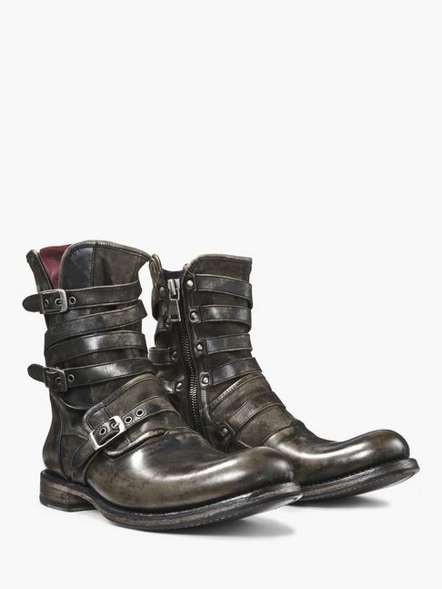 Engineer Triple Buckle Boot John Varvatos