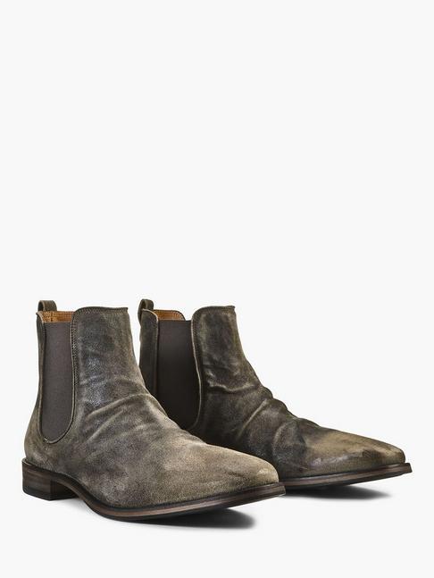 Fleetwood Suede Chelsea Boot John Varvatos