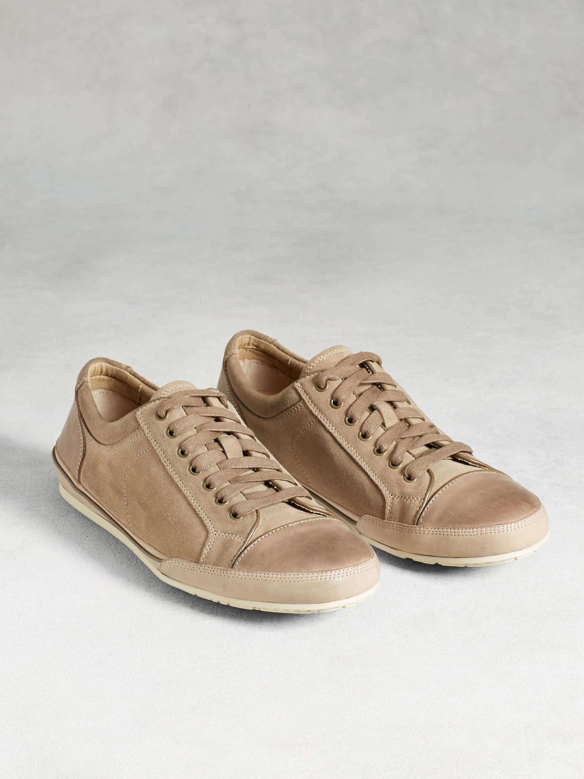 Suede Low Top Sneaker